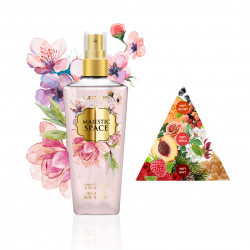 Perfumowana Mgiełka do ciała BODY MIST MAJESTIC SPACE Jasmine & Honeysuckle