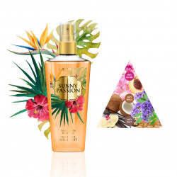 Perfumowana Mgiełka do ciała BODY MIST SUNNY PASSION Sweet Vanilla & Coconut
