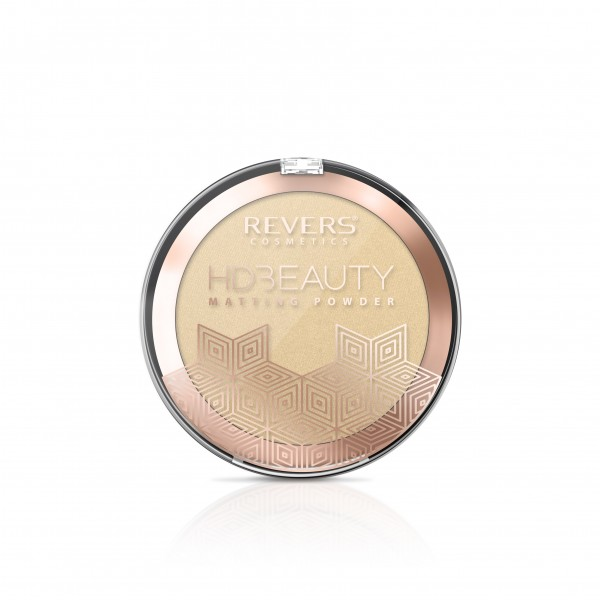 Puder prasowany HD BEAUTY Matting Powder